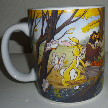 Winnie The Pooh Bear And Friends Picnic Coffee Mug