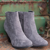 No Grey Days Short Heel Booties