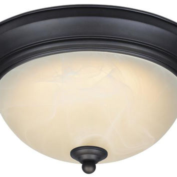 Dimmable LED Indoor Flush Mount Ceiling Fixture