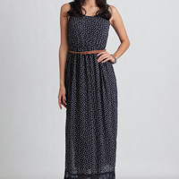 With A Bow Maxi Dress