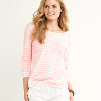 Windward Stripe Knit Top