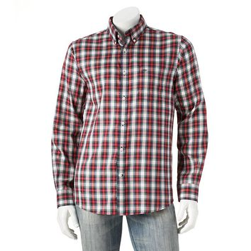 Dockers Plaid Button-Down Shirt