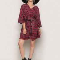 Mad For Plaid Mini Dress