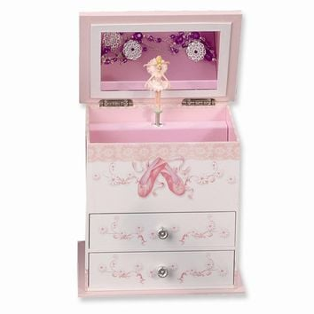 Childrens Musical Ballerina Jewelry Box