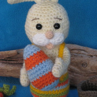 Amigurumi Crochet Pattern Easter Bunny PDF Toy Plush