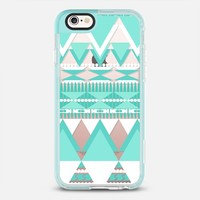 Mint Boho Dreamy Tribal iPhone 6s case by Organic Saturation | Casetify