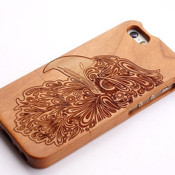 wood eagle iphone 5 case iphone 6/6 Plus Case iphone 5/5C Case, wooden iPhone 4 case, Samsung galaxy s3 s4 s5 case note 4/note3/note 2 case