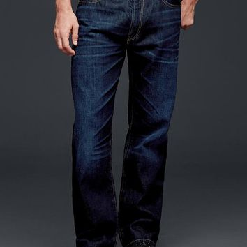 Gap Men 1969 Relaxed Fit Jeans Dark Rinse