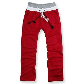 Men's Casual Sports Baggy Jogger Sweatpants