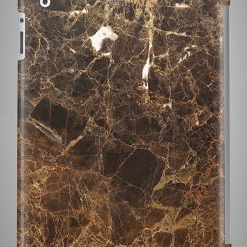 Dark Brown Scale MARBLE iPad Case iPad Mini Case