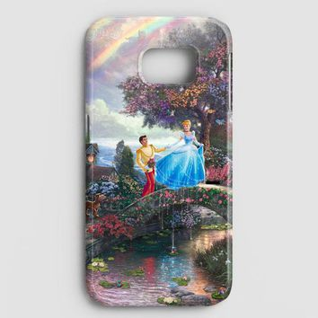 Cinderella Quote Disney Samsung Galaxy S7 Edge Case