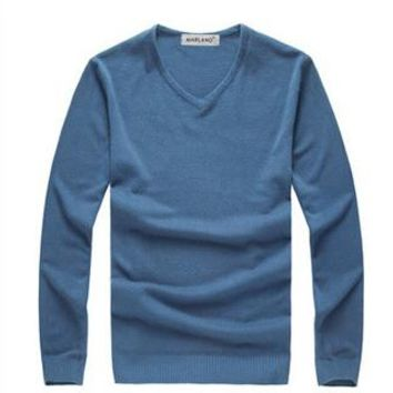 2016 new High quality Brands New spring autumn Men's v-Neck Cashmere Sweater Jumpers knitted  sweater ,pullover men brand 549