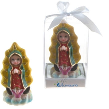 baby guadalupe statue poly resin Case of 48