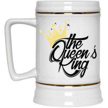 The Queen's King Kool Customs Beer Stein 22oz.
