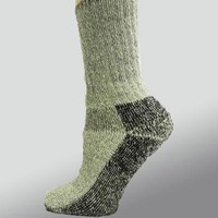 Organic Wool Socks - crew height