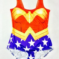 Wonder Woman Superhero Bodysuit