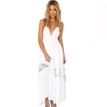 Millie Casual Strap Maxi Dress