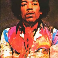 Jimi Hendrix Electric Ladyland Portrait Poster 24x36