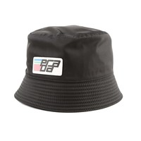 Ladies Patch Logo Bucket Hat by Prada