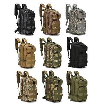 30L Military Style Tactical Backpack