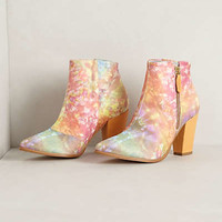 Galaxy Inlay Booties