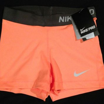 "NWT Women's Nike 3"" Pro Core Compression shorts spandex XS, S, M, L (BRAND NEW)"