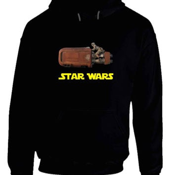 Star Wars The Force Awakens Traditional Transportation Hoodie