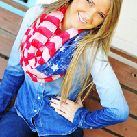 Proud To Be An American Scarf | Hope's
