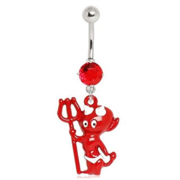 Baby Devil Navel Ring