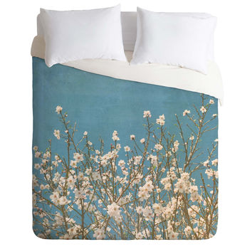 Lisa Argyropoulos Reaching For Spring Duvet Cover
