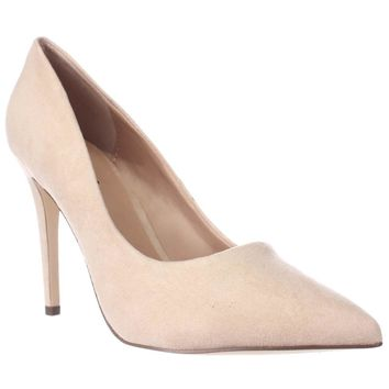 Call It Spring Agrirewiel Pointed Toe Dress Pumps, Nude, 6 US