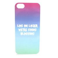 Log On Loser Ombre Phone Case