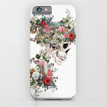 Skull Queen iPhone & iPod Case by RIZA PEKER