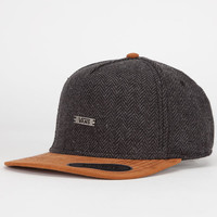 Vans Sinclair Mens Snapback Hat Grey One Size For Men 24183611501