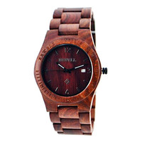 Wood watch with Calendar ,Sandalwood watches,Mens wooden watch, Real wood watches, Wooden watches for men, Gift for him, Father's day gift