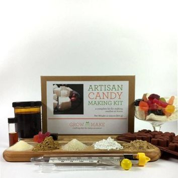 Grow and Make DIY Artisan Candy Making Kit - make your own marshmallows and old fashioned candy at home!