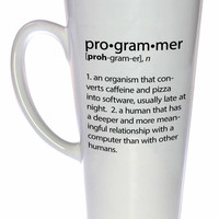Programmer Definition- funny coffee or tea mug