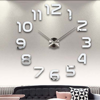 Stylish Simple Design Living Room Diy Wall Sticker Creative Home Decor Clock [6282922822]