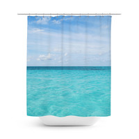 Cayman Island Waters - Shower Curtain