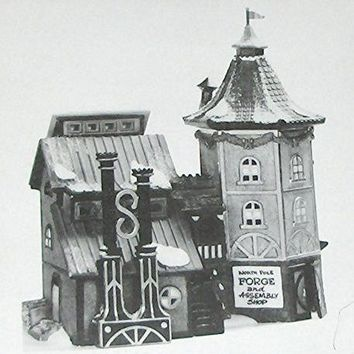 Department 56 Heritage Village Elfin Forge & Assembly Shop 56384