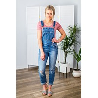 Kan Can Denim Overalls