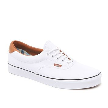 Vans Washed C&L Era 59 Shoes - Mens Shoes - White
