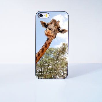 Cute Giraffe Plastic Phone Case For iPhone iPhone 5/5S More Case Style Can Be Selected