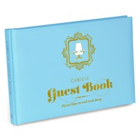 Cubicle Guest Book - Adds A Fun & Unique Twist to any Office Visit