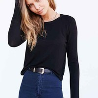BDG Long-Sleeve Classic Crop Top