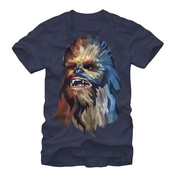 Star Wars Chewbacca Art Mens Graphic T Shirt by Fifth Sun