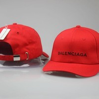 SPBEST Balenciaga snapbacks (black, white, red & pink)