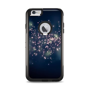 The Dark & Glowing Sparks Apple iPhone 6 Plus Otterbox Commuter Case Skin Set