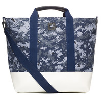 Thompson Tote - White | Jack + Mulligan - High Quality, Locally Made Mens Accessories