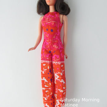 Walk Lively Steffie Doll Barbie Mattel Mod 1972